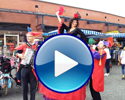 Entree Royale te boeken bij www.kwekel-evenementen.nl